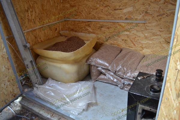 Продажа, обслуживание и ремонт пеллетных горелок для отопления домов в Киеве, Украине.