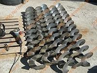 Производство спиралей шнеков