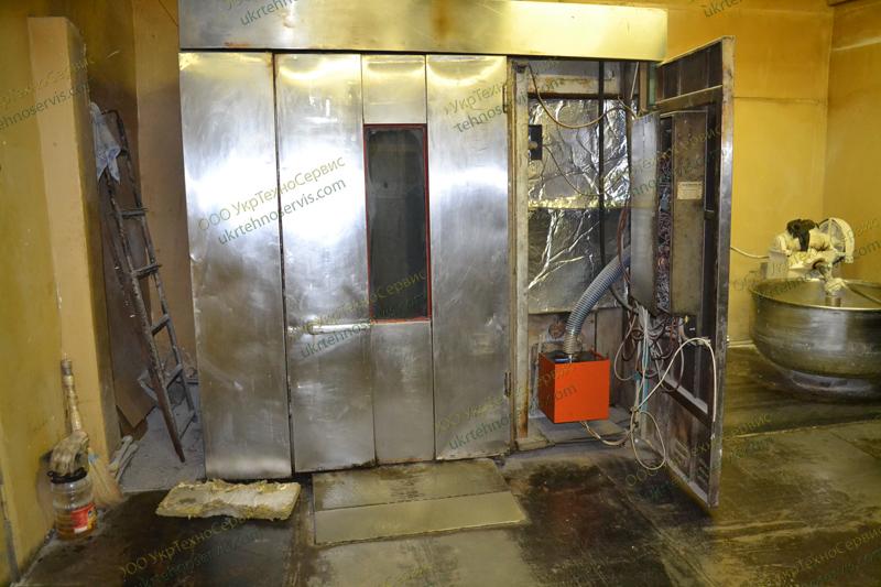 Переоборудование хлебопекарных печей на экономное топливо. Переделка хлебопекарных печей на пеллеты в Киеве, Украине.