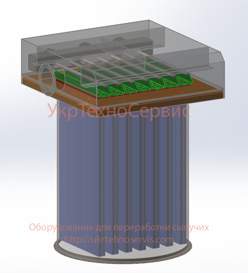 Рукавные фильтры цемента