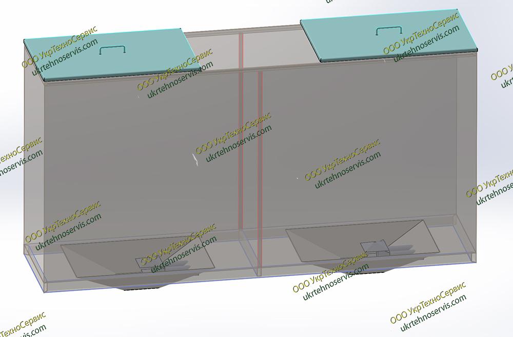 Бункеры для гранул и котлов