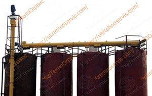 Вертикальные Шнеки цемента