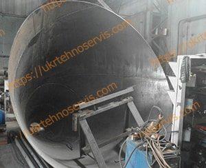 Сборка силоса для цемента