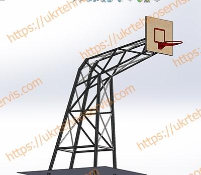 конструкторская модель спортивного инвентаря