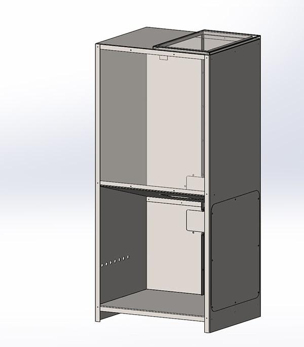 Модель бункера котла