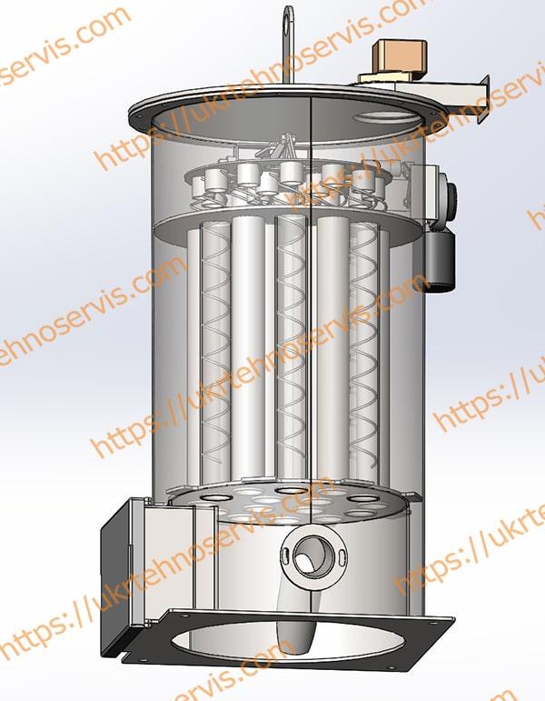 Модель теплообменника