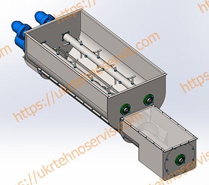 Шнеки для конвейера транспортер 2 4 характеристики